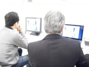 【お客様とその場でデザイン変更とイメージチェック】TEC2012 テーラーメイドショー